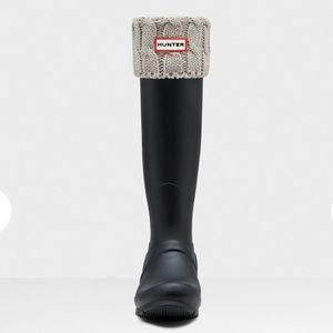 Hunter Boots Socks-Grey